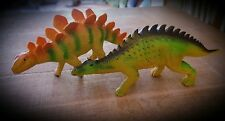 Hartgummi Vollgummi XXL Dinosaurier, Stegosaurus, Barapasaurus, Große Ur-Tiere