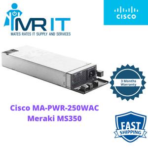Cisco MA-PWR-250WAC Power Supply Switch PSU adapter 250 Watt For Meraki MS350