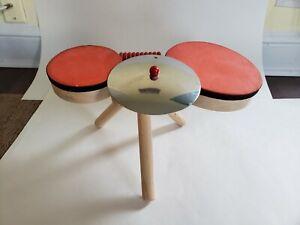 Wooden Musical Band Drum Set - Plan Toys
