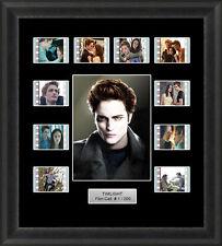 Twilight Edward Cullen Framed 35mm Film Cell Memorabilia Filmcells Movie Cell Pr