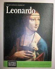 L'OPERA PITTORICA COMPLETA DI LEONARDO # Rizzoli 1978