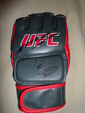 ANDERSON SILVA AND DANA WHITE SIGNED UFC GLOVE