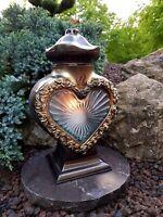 Grablaterne & Granitsockel  Grablampe Lampe Grableuchte Grablicht Grabschmuck