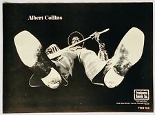 ALBERT COLLINS 1971 POSTER ADVERT TUMBLEWEED RECORDS THERE'S GOTTA BE A CHANGE