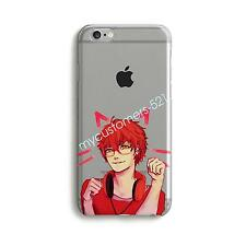 Anime 707 Mystic Messenger Chibi Clear Case Cover For iPhone X 8/6/7Plus 5s/SE