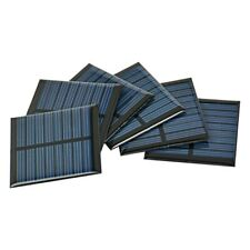 AIYIMA 10Pcs 55*55MM Solar Panel Solar Cell Epoxy Painel Power Battery Charger