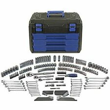 Kobalt Standard/Metric Mechanics Tool Set With Case