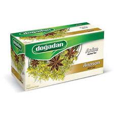 Dogadan Anise Herbal Tea ( 5 Boxes / 100 teabags ) - Premium Quality, UK Seller