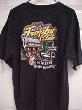 BIG GAME TROPHY CLUB Deer Bear Moose Turkey Men Black T Shirt XL Gildan New Tags