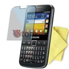 3 Películas Para Samsung Galaxy Y Pro B5510 Protector De Pantalla Display