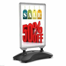 A1 Waterbase Pavement Poster Sign A-board Holder Snap Frame Shop Display Stand