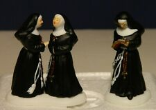 Alpine Village Series: Sisters Of The Abbey, 56.56213, Set of 2