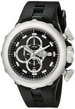 NEW Invicta 16908 Men's Signature Coll. I-Force Chronograph Black Silicone Watch