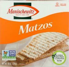 Manischewitz-Matzos Crackers - Unsalted, Pack of 3 ( 10 OZ )