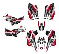 Polaris Scrambler 850 1000 Graphics Kit Free Custom Service #1300-Red Tribal