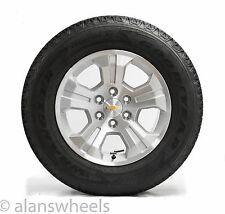 "Four New Chevy Silverado Z71 GMC Sierra Yukon Denali 18"" Wheels Rims Tires TPMS"