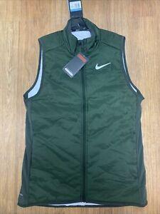 New Nike Men's AeroLayer Running Vest Small BV4878