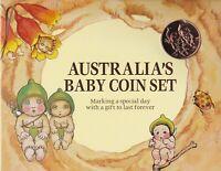 CB714) Australia 1996 RAM Australia's Baby Coin Set Unc. In original packaging