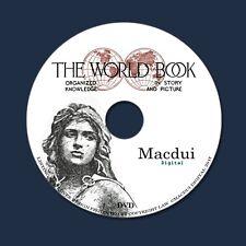 The world book, organized knowledge, story, picture 1920 - 10 PDF E-Books 1 DVD