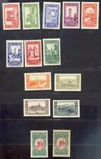 ALGERIE 1930 Yvert 87-99 * SATZ + 99b * FARBSELTENHEIT 860€(47276