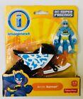 Fisher Price Imaginext DC Super Friends Arctic Batman  Motorcycle Figure Toy