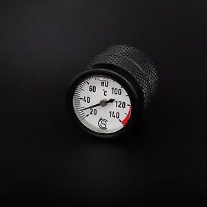 Triumph Bonneville Oil Temperature Gauge Black- Celsius oil temp