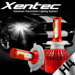 CREE H4 9003 HB2 488W 48800LM LED Headlight Conversion Bulb Kit Hi/Lo 6000K