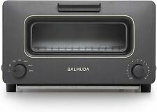 BALMUDA The Toaster K01E-KG (Black) from Japan - New