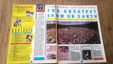 SADE BOWIE WHAM U2 Live Aid  7 page review UK ARTICLE / clipping