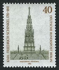 Germany-Berlin 9N463, MNH. Berlin-Kreuzberg, Liberation Monument, 1981