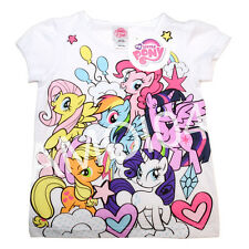 My Little Pony Girls T-Shirt Tee Top -Size 4 New