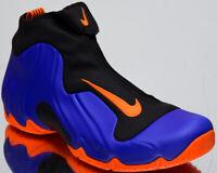 "Nike Air Flightposite ""Knicks"" Men's New Racer Blue Lifestyle Shoes AO9378-401"