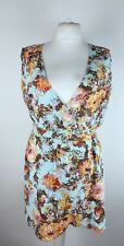Joe Browns Ladies Floral Cotton Wrap Long Tunic Top UK 16 Holiday Cruise
