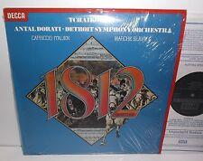 SXL 6895 Tchaikovsky 1812 Capriccio Italien Marche Slave Detroit Sym Orch Dorati
