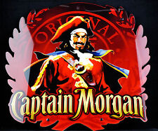 Captain Morgan, LED Leuchtreklame, sehr flach, rote Ausführung