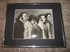 """THE BEATLES POSTER (274-001) WITH THE FRAME (NO GLASS) 14 1/2"""" X 11 1/2"""""""