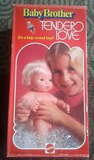 1975 Baby Brother Tender Love Mattel #9524 VTG Rare Anatomically Correct Doll