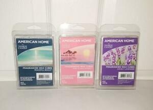 Yankee Candle Fragranced Wax Cubes Lavender Sunset Beach 3 packs of 6