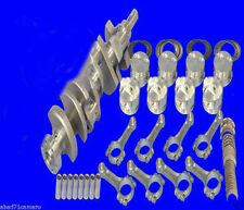 Eagle Sbc Kit 350 Balanced Rotating Assembly Std Bore 2pc Rear Main Seal