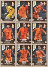 Netherlands Nederland 2014 Panini Prizm World Cup Team Set - Cards: 9