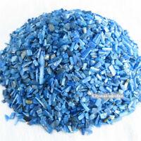 1/2lb Natural Blue Tumbled Kyanite Quartz Crystal Bulk Stones Reiki Healing