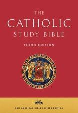 The Catholic Study Bible (2016, Leather)