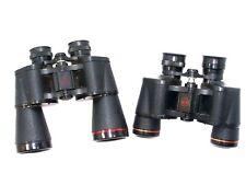 Lot of 2 Simmons Binoculars Coated Optics Model #1107 10x50 & #1101 7X35