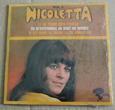 Nicoletta, je ne pense qu'a t'aimer,  CD single  4 titres