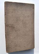 Manuscrit original Conférence d'institutrices à LA PLANTE, 1914 / Wépion, Namur