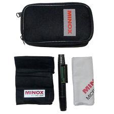 Kit conjunto de limpieza original Minox para cámaras óptica de binoculares (Reino Unido stock) Nuevo Y En Caja
