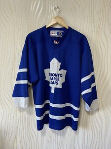 TORONTO MAPLE LEAFS ICE HOCKEY SHIRT JERSEY CCM VINTAGE