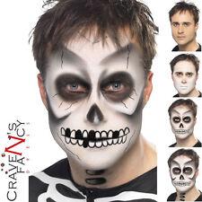 Unisex Skeleton Make-Up FX Halloween Special Effects Make Up Kit Horror Set