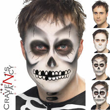 Unisex scheletro MAKE-UP Fx Halloween Effetti Speciali Make Up Kit Set HORROR