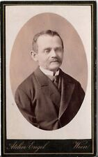 CDV photo Herrenportrait - Wien 1880er